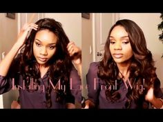 How I Install My Lace Front Wig **BestLaceWigs.com OSW005 Ombre Collecti...