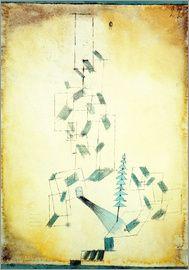 Paul Klee - Bau am Bach, 1922