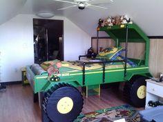 Twin John Deere Bed Bedroom Themes, Kids Bedroom, John Deere Bed, Palate Bed, Coral Baby Bedding, Construction Bedroom, Bed Price, Kids Bedding Sets, Cool Beds