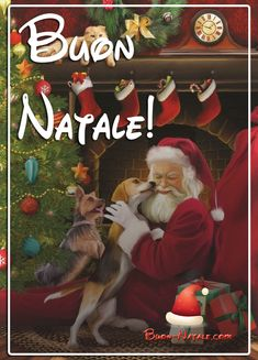 Buon Natale 25 Dicembre Immagini per Whatsapp - Buon-Natale.com Christmas Wishes, Christmas And New Year, Merry Christmas, Italian Memes, Christmas Wallpaper, Santa, Painting, Holidays, Merry Little Christmas