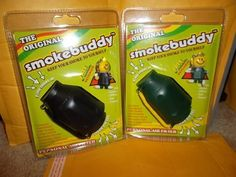 Smoke Buddy - Personal Air Filter/ Purifier Brand New - Blue by Smoke Buddy. $16.67. Lasts Up to 2 Months. Brand New - Includes Smoke Buddy Keychain. Color: Blue. Eliminates smoke and odors. Convenient and compact for travel and storing discreetly /Travel Caps Included. Eliminates smoke and odors Brand New - Includes Smoke Buddy Keychain Convenient and compact for travel and storing discreetly /Travel Caps Included Lasts Up to 2 Months Color: Blue