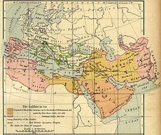 """Umayyad Dynasty / Arab Kingdom was """"the first great Muslim dynasty to rule the empire of the Caliphate (661 - 750 CE)"""". Umayyads, originally headed by Abū Sufyān, were a family of the Quraysh tribe centered at Mecca then fell under the influence of Muhammad SWT and adopted Islam as a religion in 627 CE."""