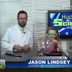 """Just like a sharp object can pop a balloon, so can a flame. So, how can you make a balloon fireproof? Jason Lindsey aka """"Mr. Science"""" with Hooked on Science and a kid scientist show us how by using a few ingredients from around the house. Plus, they'll show you how this experiment can help you better understand El Nino. Go to http://www.hookedonscience.org for the FREE NGSS experiment guide."""
