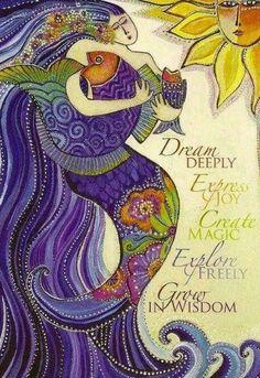 Dream deeply