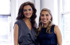Meet Jennifer Fleiss and Jennifer Hyman founders of Rent The Runway. A company that let's you rent designer clothing for pennies on the dollar. Rent Dresses, Casual Dresses, Ladies Party, Business Women, Interview, Pennies, Designer Clothing, Female, Lady