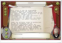 """""""Ortografía I"""" (Acentuación de palabras de Primaria y Secundaria) Just Be You, Baseball Cards, Interactive Activities, Spanish Language, Teaching Resources, Learning, Literatura, Words"""