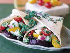 Healthy Wrap Recipes | POPSUGAR Fitness
