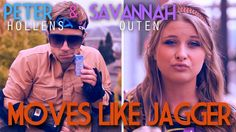 Moves Like Jagger - Peter Hollens - Acappella Cover feat. Savannah Outen Beatbox.  All music is vocals only!