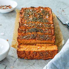 Low Carb Blumenkohl-Tomaten-Brot