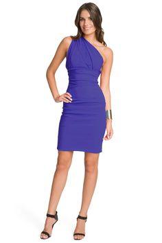 Preen Blue Violet Cocktail Dress