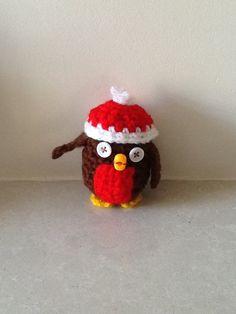 Christmas Robin crochet