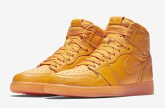 26652175336 Official Images Of The Air Jordan 1 Retro High OG Orange Peel