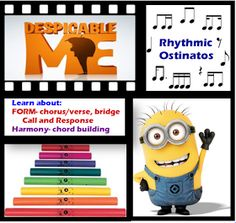 The Music Teacher Who Designed This Awesome Lesson 21 Teachers Who Are Totally Crazy About Minions Minion Classroom, Music Classroom, Music Teachers, Classroom Ideas, Minions, Elementary Music Lessons, Piano Lessons, Music Lesson Plans, Teaching Music