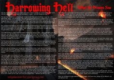 Harrowing Hell - Prose #antipodeanwriter #prose #narrative #description #shortstory #orpheussings