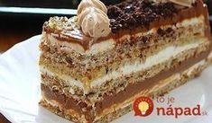 Žerbo torta ~ Recepti i Savjeti Dobos Torte Recipe, Torte Cake, Bakery Recipes, Wine Recipes, Dessert Recipes, Sweet Desserts, Sweet Recipes, Esterhazy Torte, Pizza Snacks