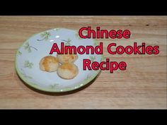 Chinese Almond Cookie Recipe