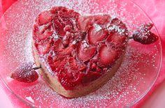 Grandbaby Cakes: Strawberry Heart Upside Down Cake