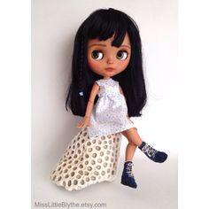 RESERVED OOAK Custom Blythe Doll fake Heidi di MissLittleBlythe