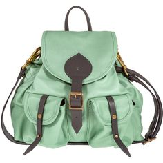 Jas MB Mint Bomber Mini Satchel ($460) ❤ liked on Polyvore featuring bags, backpacks, accessories, purses, bolsas, leather satchel handbags, mini backpack, leather rucksack, crossbody backpack and mini satchel