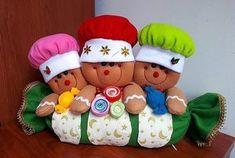 Toca la imagen y Aprende Hacer Cojines con personajes navideños con moldes paso a paso curso gratis para principiantes
