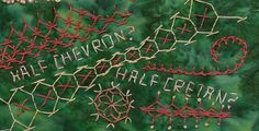 TAST 2012 Week 19  Half Chevron Stitch | by stitchintime posted on Flickr by Gayle Schipper