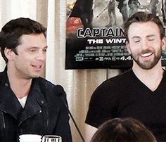 Seb and Chris Evans