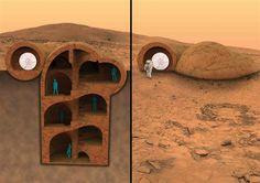 RedWorks seeks to 3D print housing on Mars using in situ resources & generative design-based 3D printing method