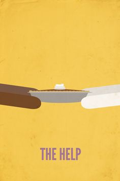 The Help (2011) ~ Minimal Movie Poster by Rebekah Marcum #amusementphile