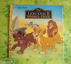 A Golden Look-Look Book ~ Disney's The Lion King II Simba's Pride Paperback~1998