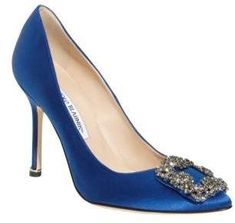 SEX & THE CITY!! Manolo Blahnik 'Hangisi' Jewel Pump (affiliate)