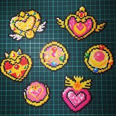 Sailor Moon perler beads by yu_kiiiiin