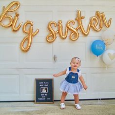 Baby Number 2 Announcement, 2nd Pregnancy Announcements, Big Brother Announcement, Baby Announcement Pictures, Second Child Announcement, Gender Reveal Balloons, Sibling Gender Reveal, Second Pregnancy, 2nd Baby