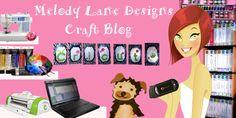 Melody Lane Designs lots of cricut craft room tutorials Cricut Cuttlebug, Cricut Cards, Cricut Cartridges, E Craft, Diy Craft Projects, Crafts For Kids, Cricut Tutorials, Video Tutorials, Cricut Ideas