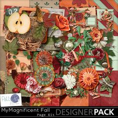 My Magnificent Fall Page Kit