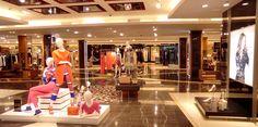 Salam's ground floor womenswear department.