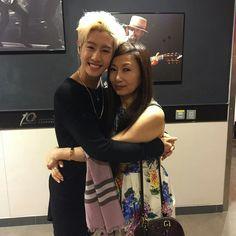 Mark with Jackson's mom