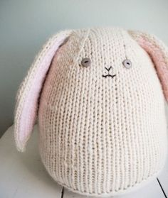 Amigurumi Bunny - FREE Knitting Pattern / Tutorial