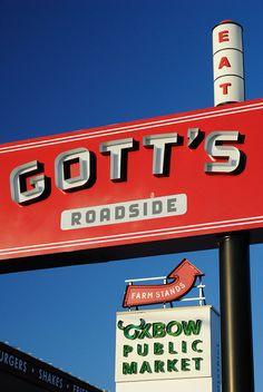 Gott's Roadside- my favorite restaurant on the planet