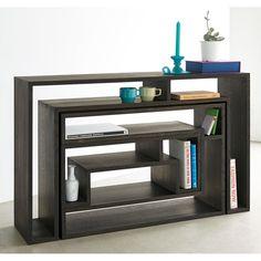 ブランド abode(アボード) デザイナーのウー・バホリヨディンが手掛ける、多用途にフレキシブルに対応できる天然木のコンソールテーブル