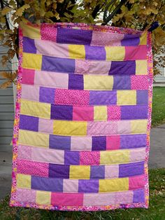 Sew Incredibly Crafty: Baby Girl Quilt