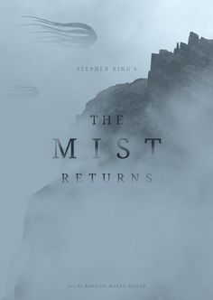 The Mist. Art inspired by Stephen King's fantasy, taking advantage of the launch of the TV series. Cryptozoology, Mists, Tv Series, Fantasy, Gate, Netflix, Movie Posters, Inspiration, Inspired