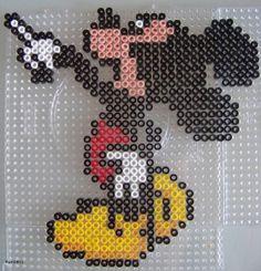 Perles Hama : Mickey