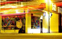 Stinkfish in London - unurth | street art