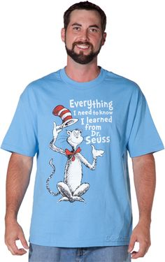 Everything I Need To Know Dr Seuss T-Shirt