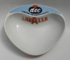 posacenere lavazza dec porcellana laveno anni 60 design antonia campi