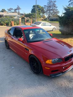 2003 BMW E46 M3 Coupe - $9,500 #Anaheim #California #USA - 208,000 miles - Manual transmission - Exterior colour: Red · Interior colour: Black  | TrackRecon℠ Classifieds | #BMW #BMWForSale #BMWM #BMWM3 #BMWM3ForSale #BMWe46 #BMWE46M3 #MPower #BMWMotorsport