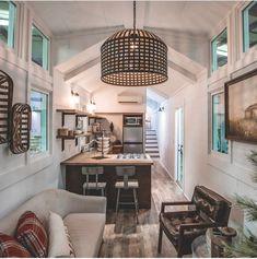 50 Best Tiny House Design Ideas – Home/Decor/Diy/Design Best Tiny House, Tiny House Plans, Tiny House On Wheels, Tiny Home Floor Plans, Modern Tiny House, Small Room Design, Tiny House Design, Home Design Plans, Home Interior Design