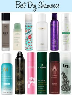 Give your hair routine a day off with a dry shampoo!