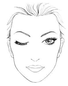 Face Drawing Blank Face Template For Makeup Blank mac face charts makeup - Face Template Makeup, Face Chat, Make Up Gesicht, Mac Face Charts, Make Up Designs, Art Visage, Makeup Face Charts, Makeup Drawing, Face Sketch