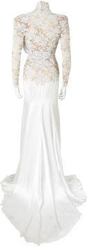 Movie/TV Memorabilia:Costumes, Nolan Miller Designed Wedding Gown for Heather Locklear, 1994....  (Total: 2 Items)